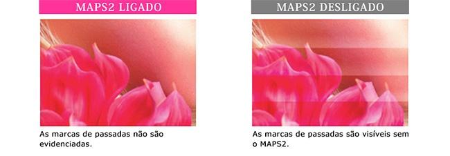 MAPS2 LIGADO / MAPS2 DESLIGADO