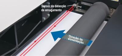 Sensor de detecção de enrugamento