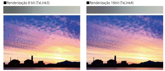 Renderização 16bit (TxLink4)