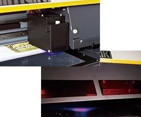 A Mimaki foi a primeira a lançar a tinta de cura UV LED