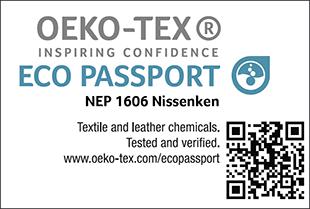 [ECO PASSPORT] Etiqueta de certificação No. NEP 1606