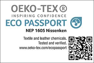 [ECO PASSPORT] Etiqueta de certificação No. NEP 1605