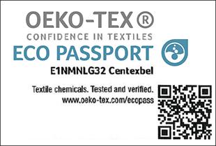 [ECO PASSPORT] Etiqueta de certificação No. E1NMNLG32