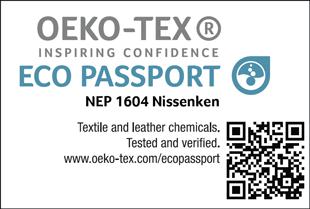 [ECO PASSPORT] Etiqueta de certificação No. NEP 1604
