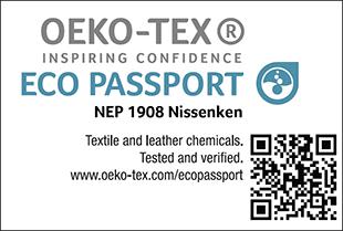 [ECO PASSPORT] Etiqueta de certificação No. NEP 1908