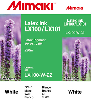 LX100-W-22 LX100/LX101 Latex Ink cartridge White