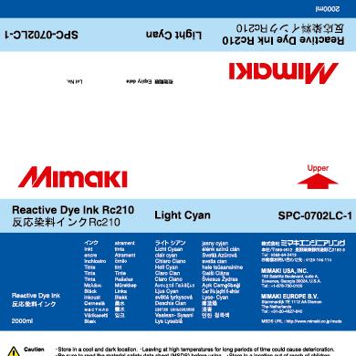 SPC-0702LC Rc210 Light Cyan