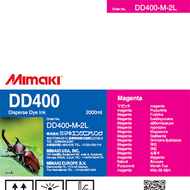 DD400-M-2L DD400 Magenta