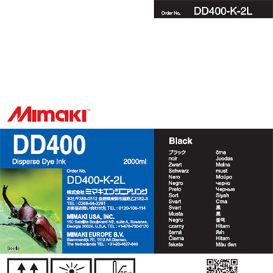 DD400-K-2L DD400 Black