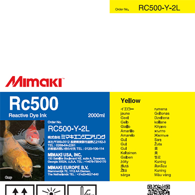 RC500-Y-2L Rc500 Yellow