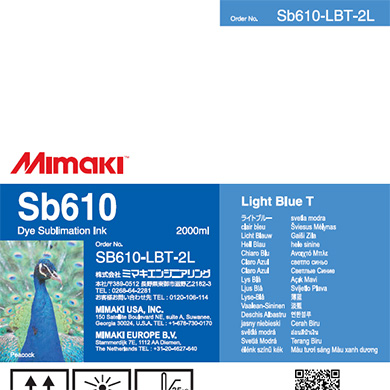 SB610-LBT-2L Sb610 Light Blue T