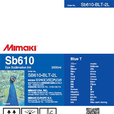 SB610-BLT-2L Sb610 Blue T