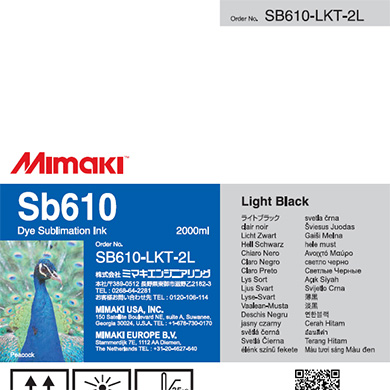 SB610-LKT-2L Sb610 Light Black T