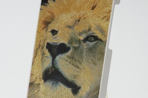 Cor + Impressão digital com glitter + Clear