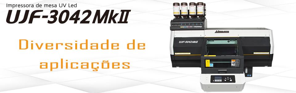 UJF-3042MkII / Impressora de mesa UV Led