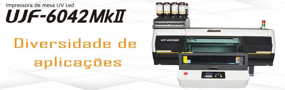 UJF-6042MkII / Impressora de mesa UV Led