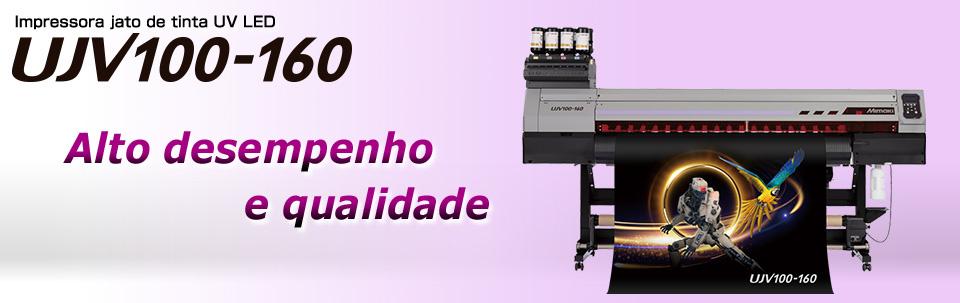 UJV100-160 | Impressora jato de tinta UV LED