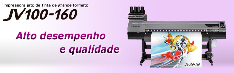 JV100-160 | Impressora à jato de tinta de grande formato