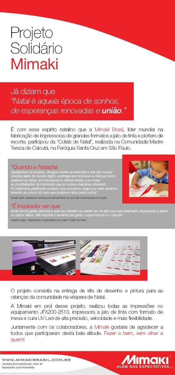 Projeto Solidário Mimaki
