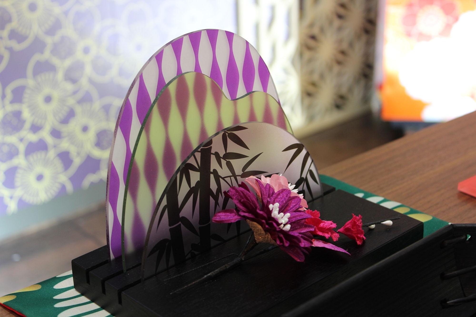Objetos para decoração