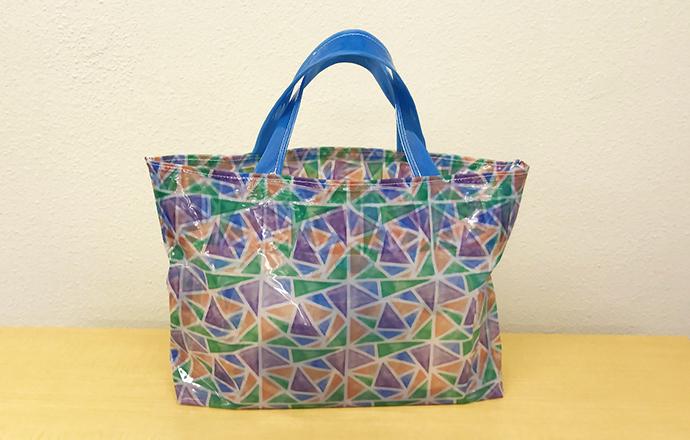Bag de vinil personalizada (Impressão a jato de tinta solvente)